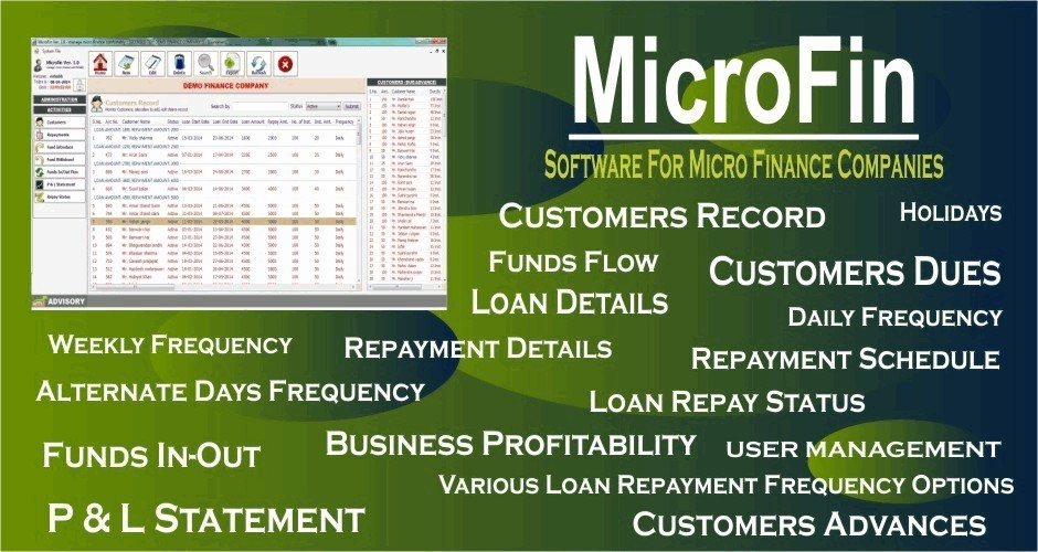 MicroFin (Software for Micro Finance Company)