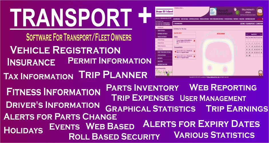 Transport + (Transport / Fleet Managemet Software)